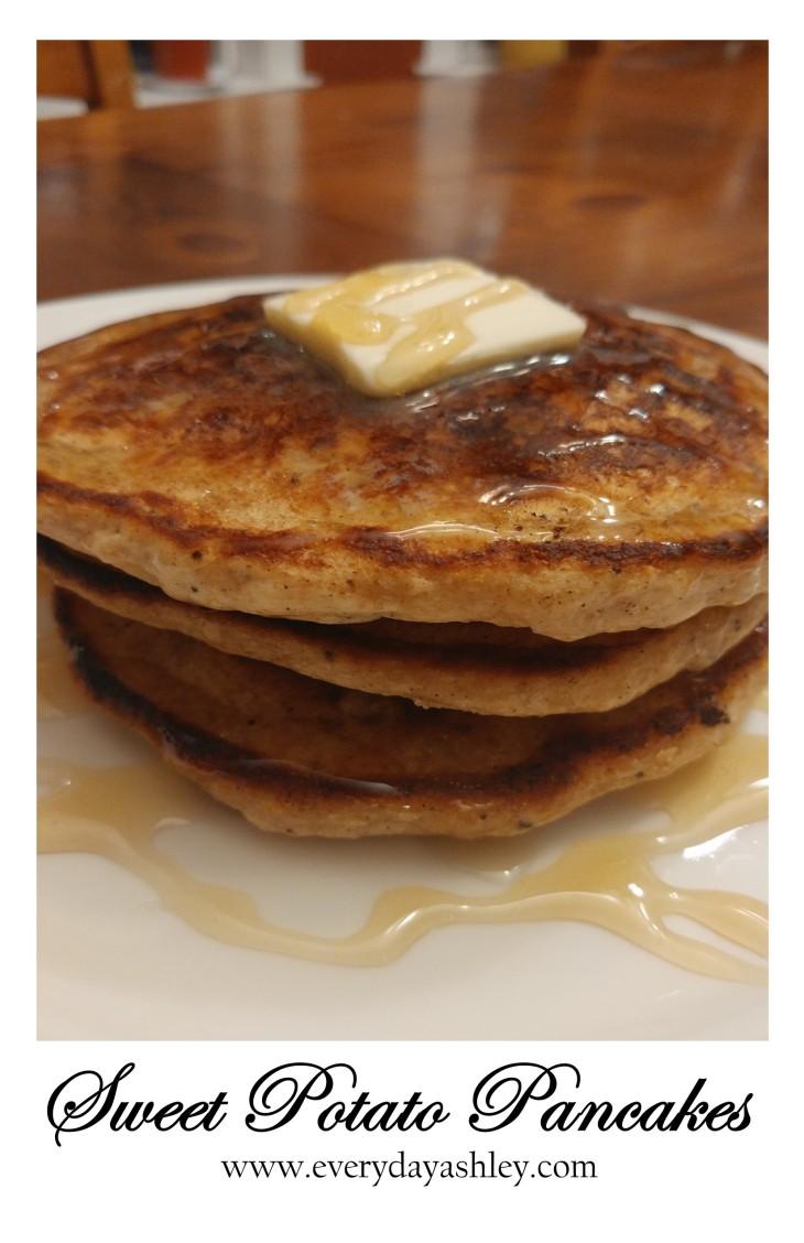 sweet potato pancakes pin